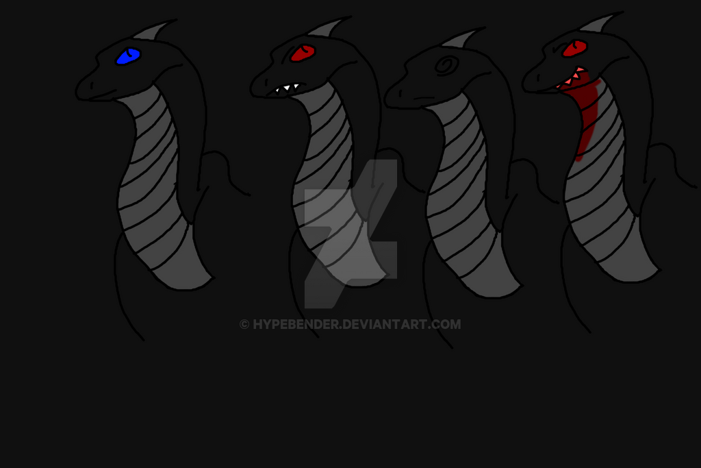 Electron2002's Dragon Stickers by hypebender