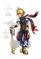 Kingdom Hearts (fan art) Sora by thiagosb