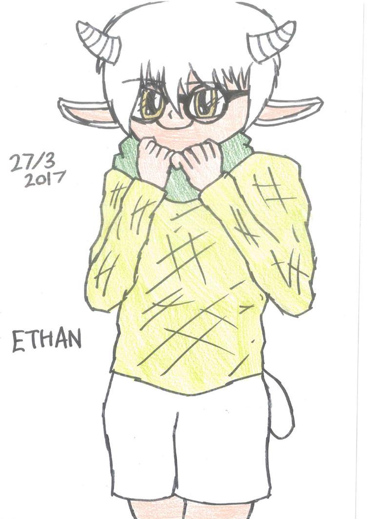 Ethan - Art Trade For Riverthunder by FractureFighter