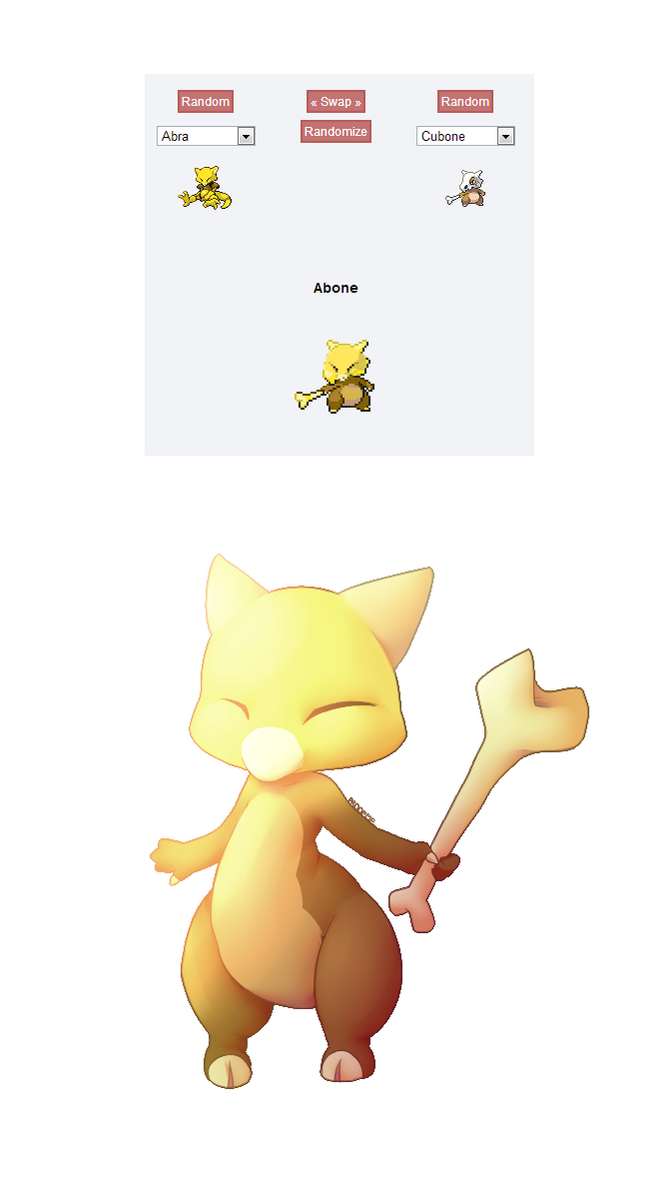 Pokemon fusion abone by proofme on deviantart - Cute pokemon fusions ...