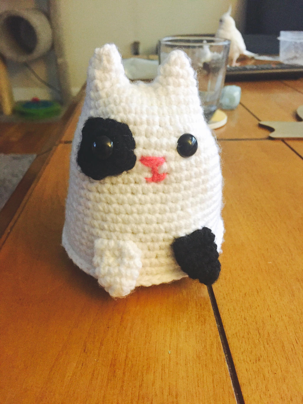 Pansexual Pride Crochet Dumpling Cat – Stitchy Frood | 1366x1024