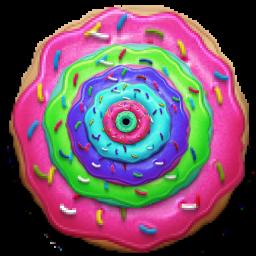 Biggest Donut Ever by babysnoop03