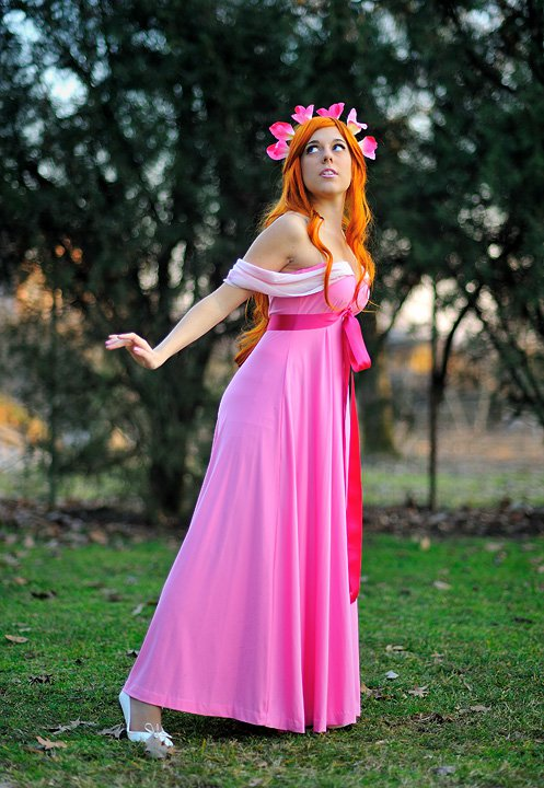 Giselle -Enchanted -pink dress by LadyGiselle on DeviantArt