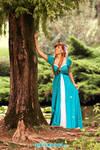 Giselle blue dress