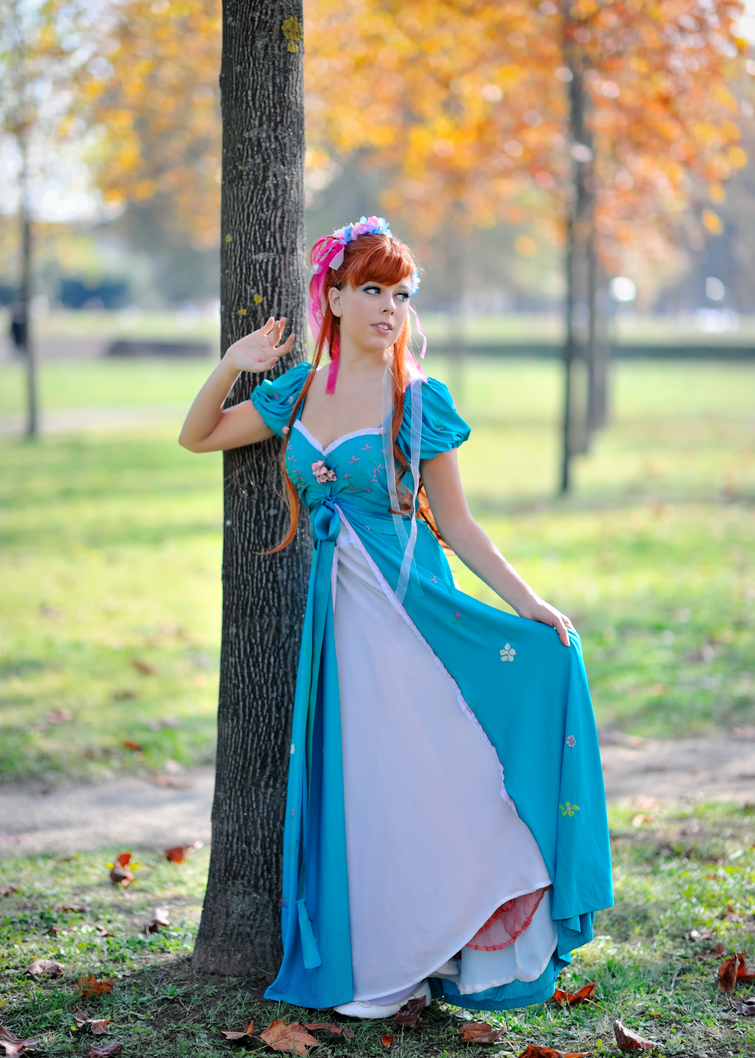 Giselle in blue by LadyGiselle on DeviantArt