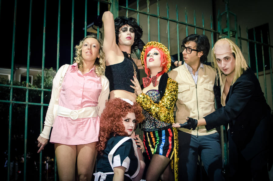 Rocky Horror Picture Show Magenta Glee