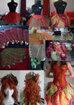 Work In Progress: Autumn's fairy by LadyGiselle