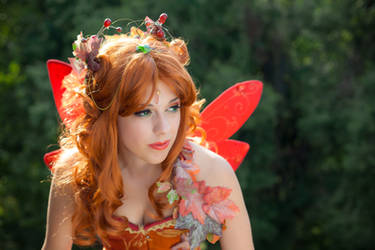 Autumn's fairy 3 by LadyGiselle