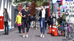 Japanese street Scene 2