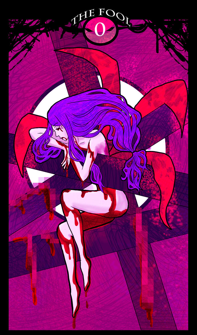 Tokyo Ghoul Tarot: 0 The Fool by natersal