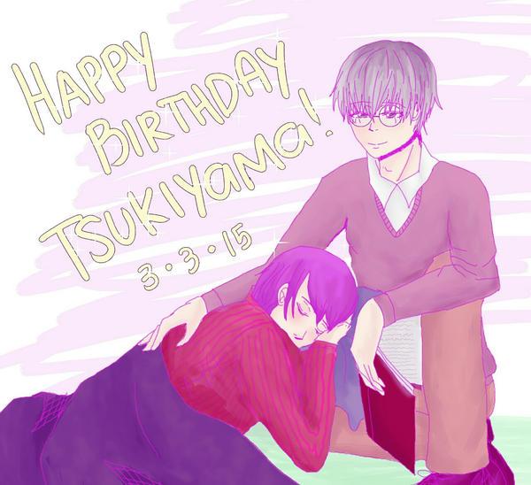 Happy Birthday Tsukiyama Shuu! by natersal