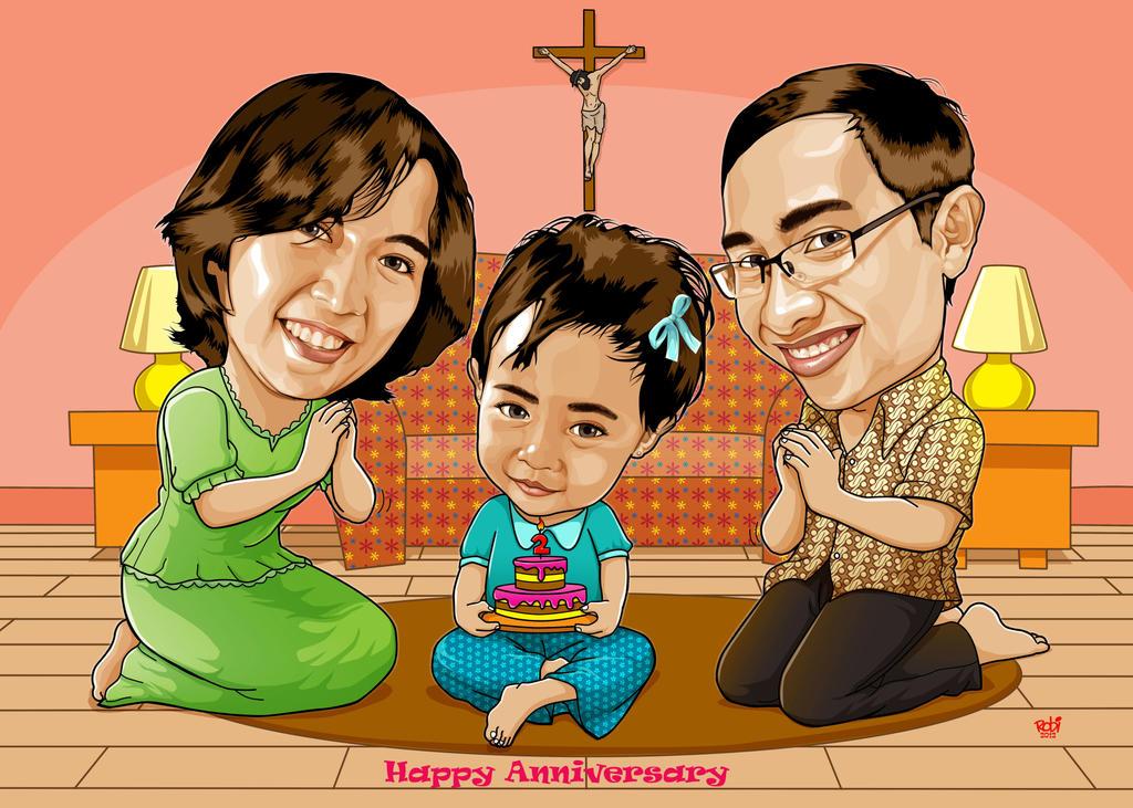 Te Ce's Family by IborArt