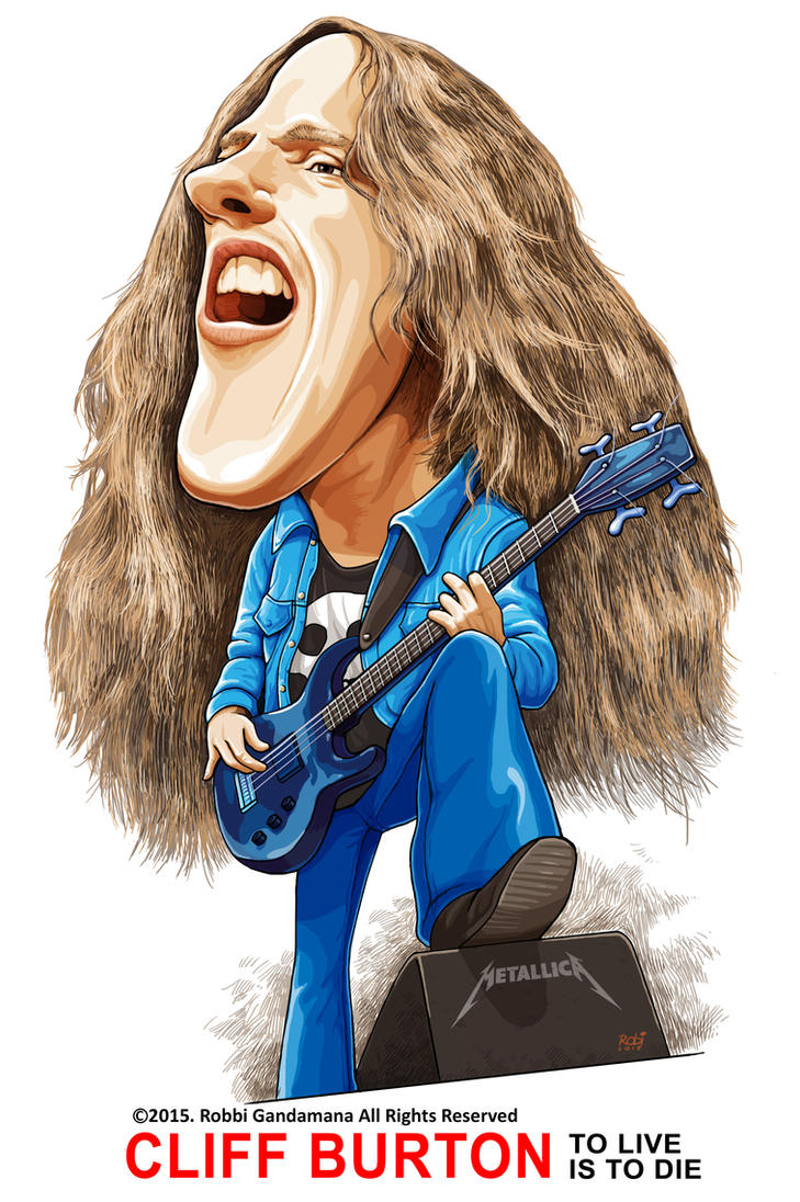 Cliff Burton by IborArt