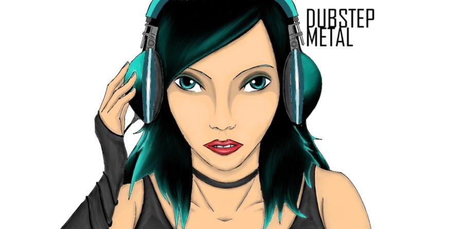 Headphone girl by Natuek