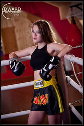 Boxing Star - Claire by Edward-Photography