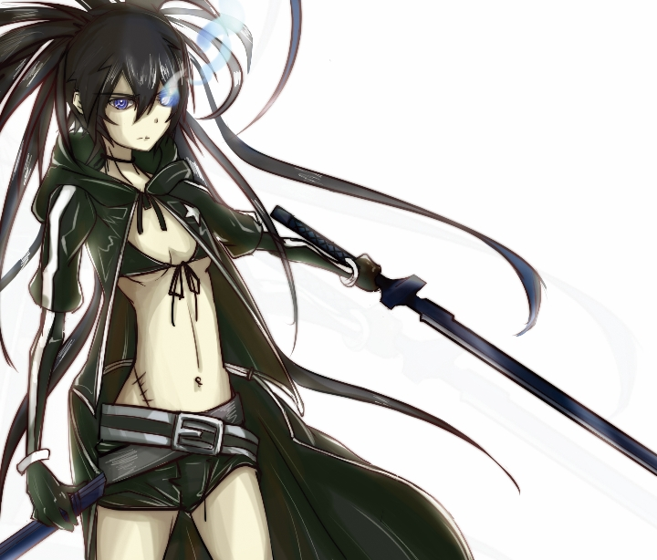 BLACK ROCK SHOOTER by DeathKLovC