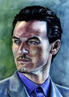 Mr. Evans by KseniaParetsky