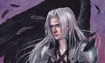 One winged angel by KseniaParetsky