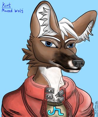 Kint Portrait (Color) by ArityWolf