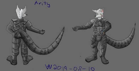 ArityWolf Ref Sheet 2019 (Combat Suit*