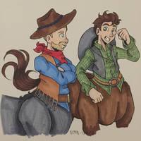 Centaur Cowboys by CooperCentaur