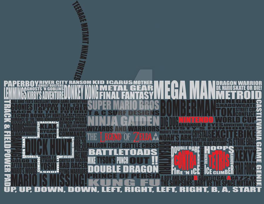 NES...Word by M-Watts-Art