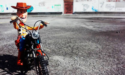 Woody Rides!