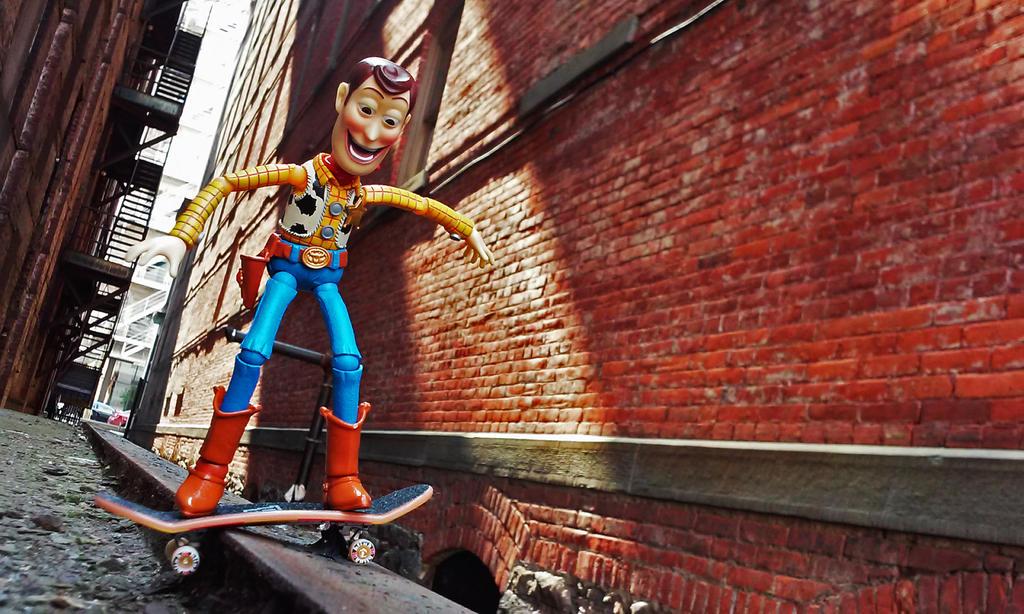 Woody Grind by M-Watts-Art