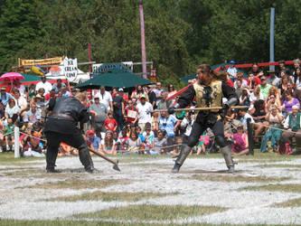 men in battle by bipolargenius