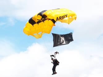 parachuter by bipolargenius