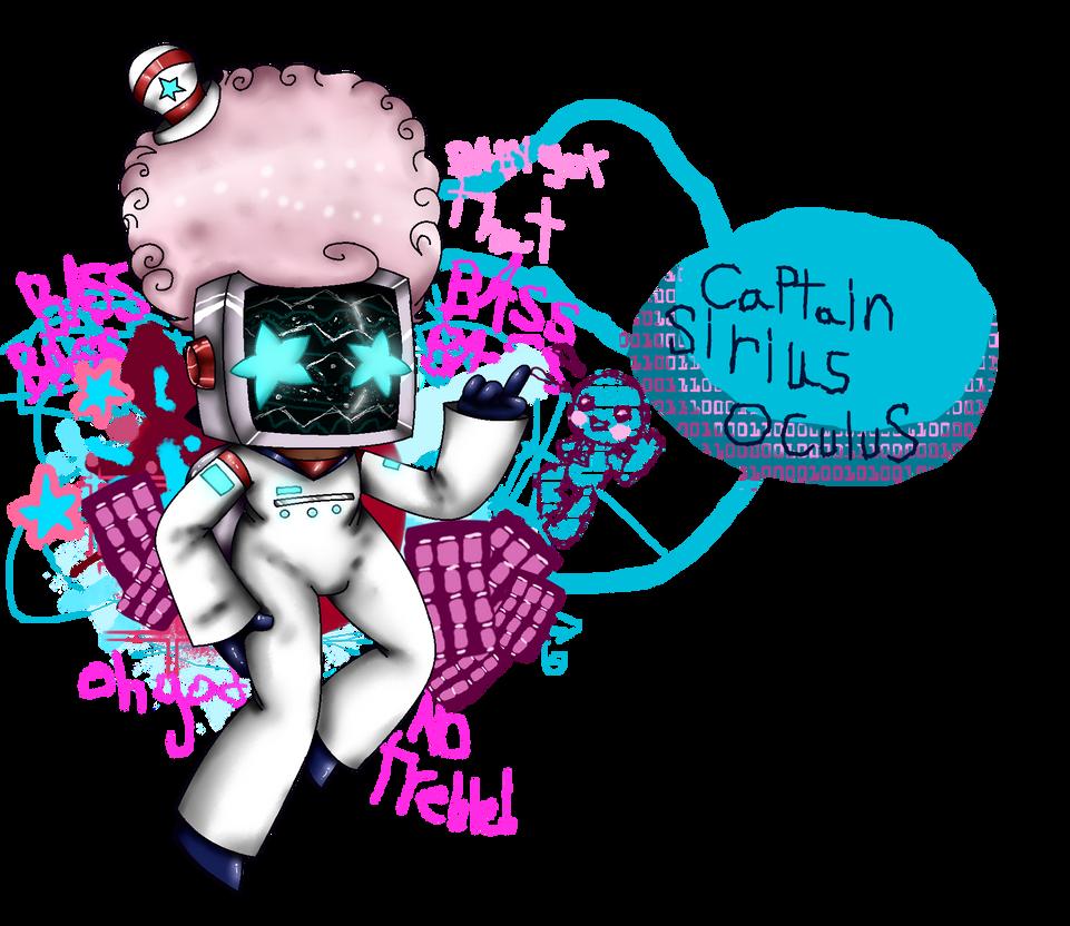 Captain Sirius Oculus by saltycuccumbers