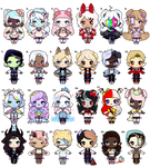 Mini monsters :11/24 OPEN: by Jixngshi