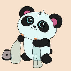 [Fan Art] Pandi the Panda by numaru1989