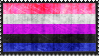 Genderfluid Flag Stamp