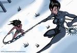 Samurai Jack - Jack vs Ashi