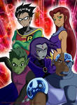 Teen Titans ! by Imanimation