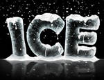 How to make ice text effect