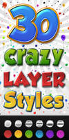 Colourful 3D PS Layer Styles