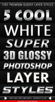 White Glossy Layer Styles