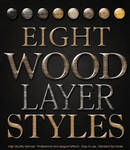 Wood Photoshop Layer Style
