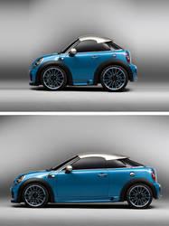 Photoshop super mini car by Giallo86