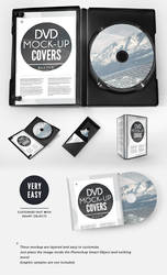 CD DVD Presentation Cover Case by Giallo86