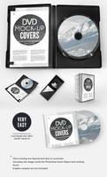 CD DVD Presentation Cover Case