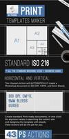 Print Templates Maker - Automatic Photoshop Action