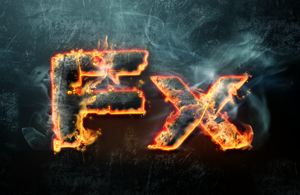 Fire photoshop text effect layer styles set by Giallo86 on DeviantArt