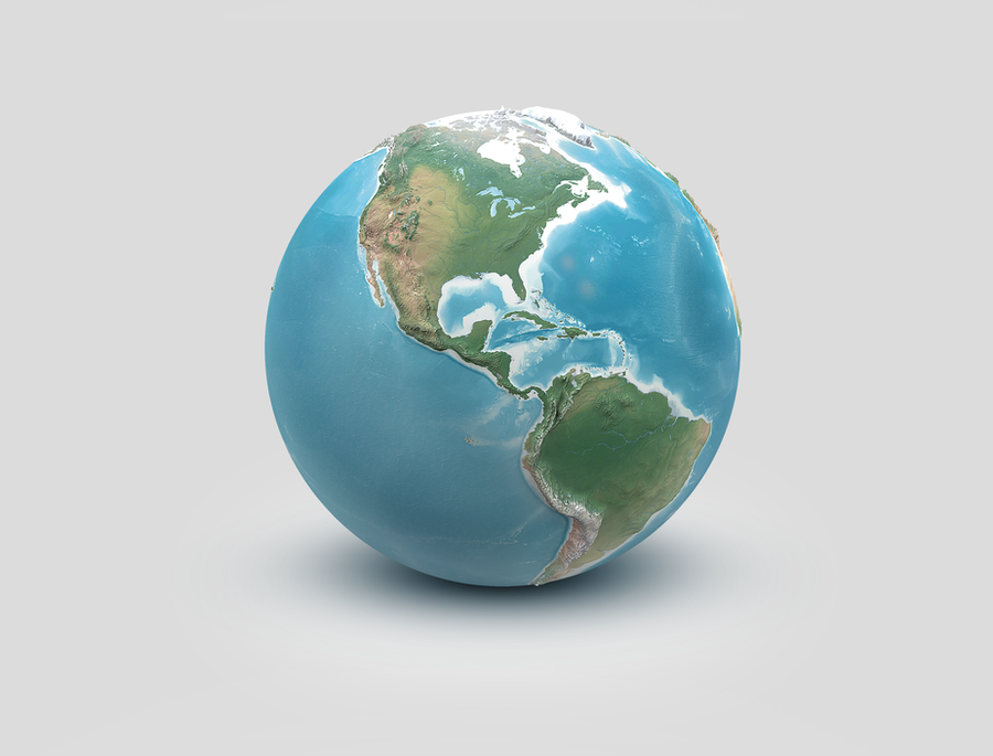3D World: The Americas by Giallo86