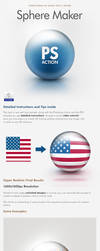 Sphere Maker Photoshop Action by Giallo86