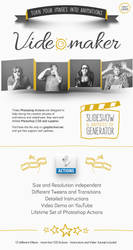 Video Maker Photoshop Actions - Animated Slideshow by Giallo86