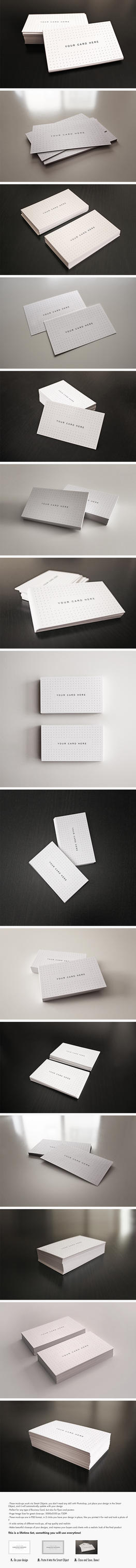 Flyer / Business Cards Mock-Up Bundle by Giallo86