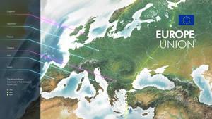 3D World Maps - Europe Infographics